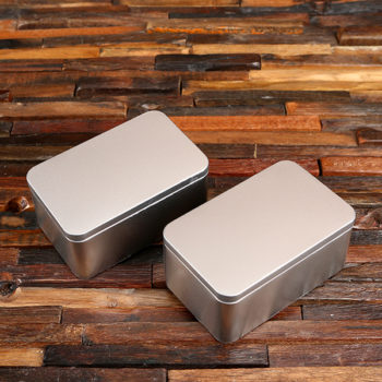 personalized tin containers